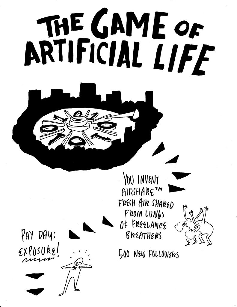 Adam Bessie and Jason Novak, The Game of Artifical Life